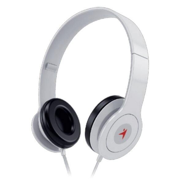 7246d9932 GENIUS slúchadlá s mikrofónom HS-M450, biele