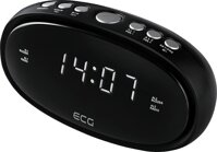 ECG RB 010 BLACK rádiobudík