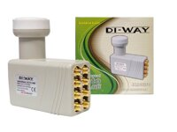DI-WAY LNB OCTO 0,1dB Gold F konektory