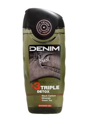 Denim sprchový gél 250ml Black