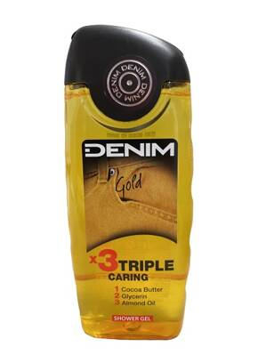 Denim sprchový gél 250ml Gold