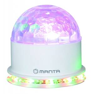 MANTA Disko guľa LED Light Ball MDL009