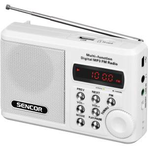 SRD 215 W RÁDIO S USB/MP3 SENCOR
