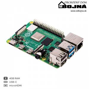 RASPBERRY Pi 4 Model B 4GB/WiFi/Bluetooth 5.0/1000Mbps