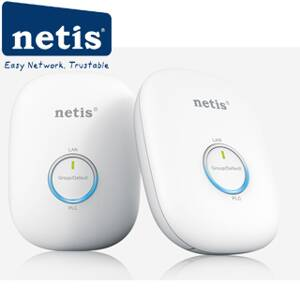 NETIS PL7600KIT Powerline Ethernet adaptér 600Mb/s