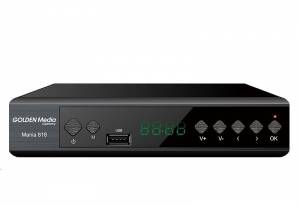 GOLDEN MEDIA MANIA 818, DVB-T2 Full HD HEVC H.265