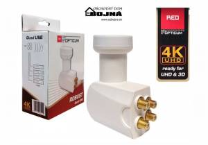 Opticum Robust Quad LNB 0,1 dB